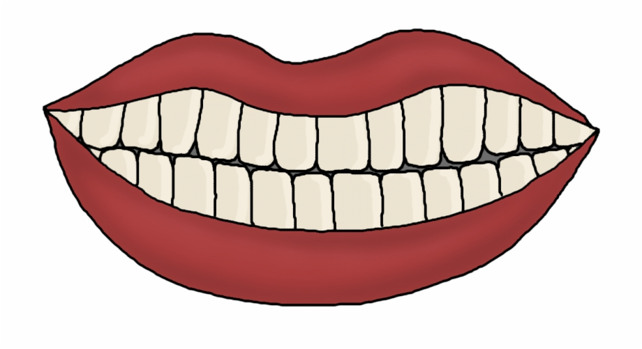 Tooth clipart template download Brush Your Teeth Clipart - Mouth Template With Teeth Free ... download