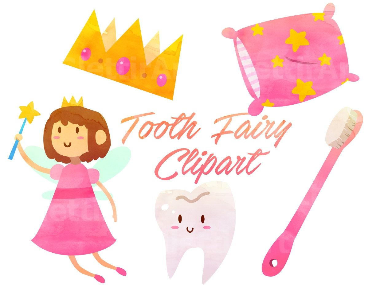 Tooth fairy wand clipart vector free library Toothfairy Clipart, Tooth Fairy Clipart, for personal and ... vector free library