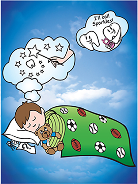 Tooth under pillow clipart image transparent library Wow, look sis! I lost my first tooth. It didn\'t hurt one bit. Will I get ... image transparent library