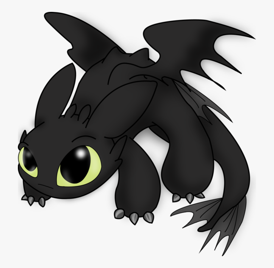 Toothless dragon clipart graphic black and white download Toothless Png Pic Background - Toothless Dragon Clip Art ... graphic black and white download