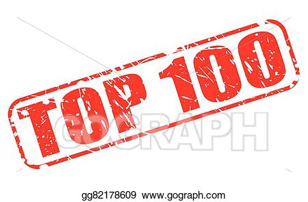 Top 100 clipart svg royalty free Vector Art - Top 100 red stamp text. EPS clipart gg82178609 ... svg royalty free