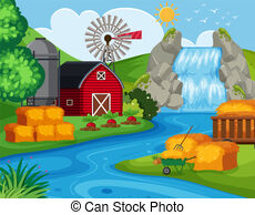 Top down farm clipart png library Farm land background with a top down view. png library