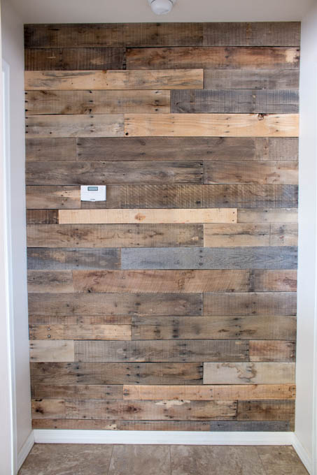 Top down wall wood clipart image library download How To Install A Pallet Wall The Easy Way - Addicted 2 DIY image library download