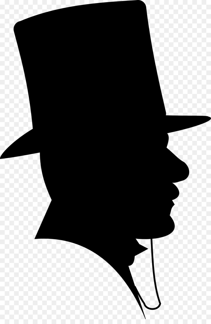 Top hat and gavel clipart clip royalty free Silhouette Top hat - silhouette man png download - 962*1920 ... clip royalty free