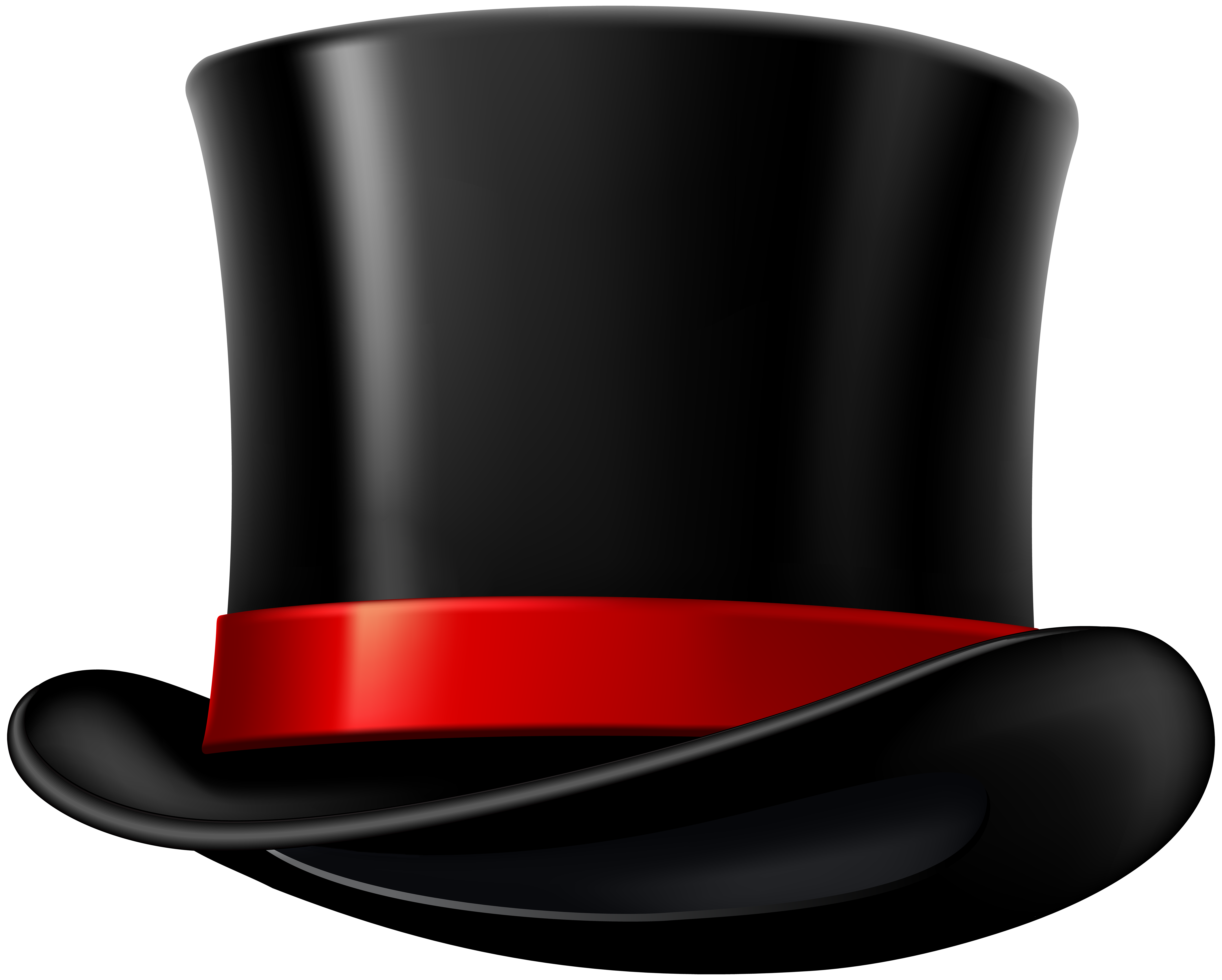 Top hat clipart blue ribbon vector library stock Top Hat Transparent Image | Gallery Yopriceville - High ... vector library stock
