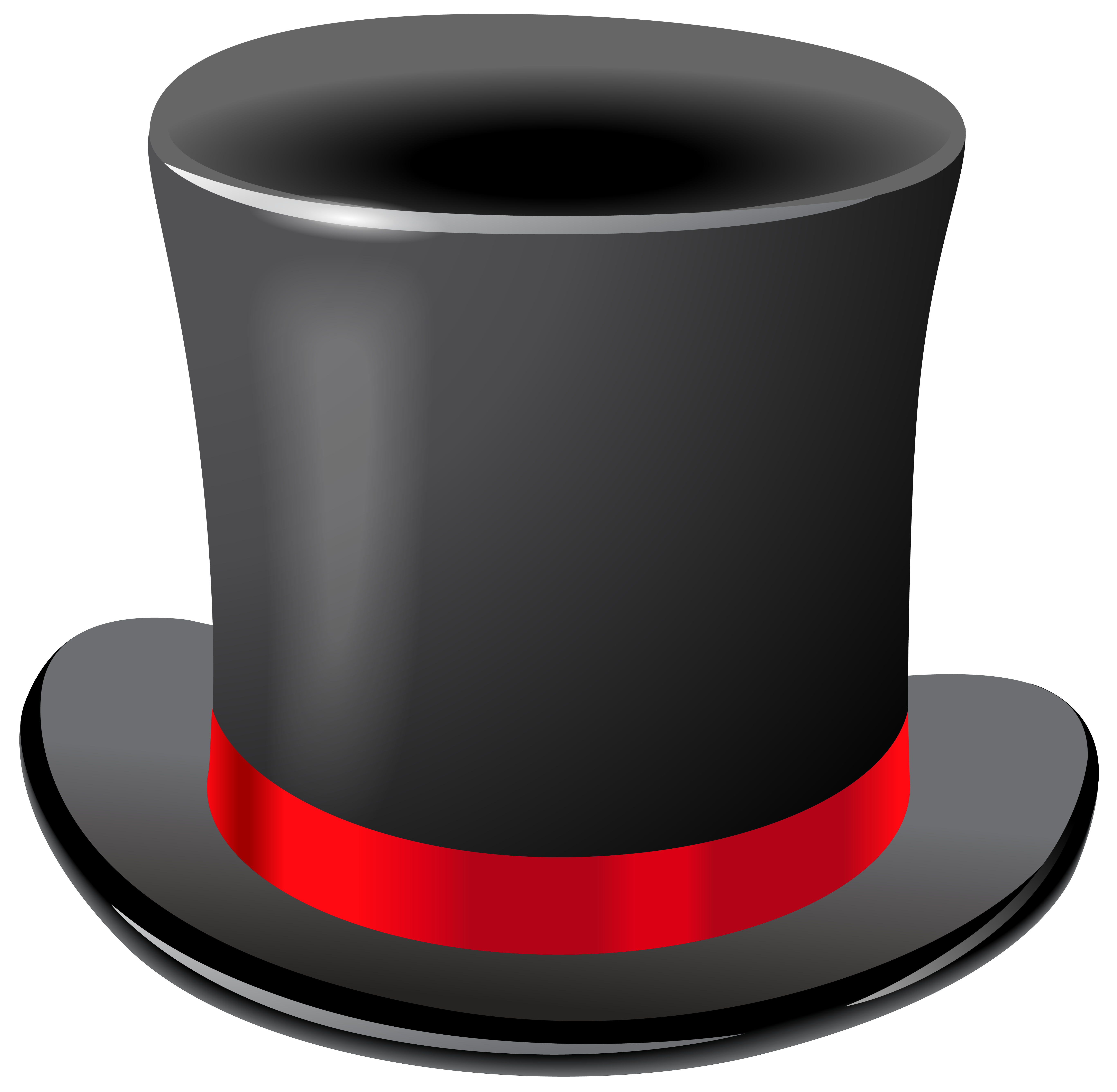 Top hat clipart blue ribbon black and white download Black Top Hat Transparent PNG Clip Art Image | Gallery ... black and white download