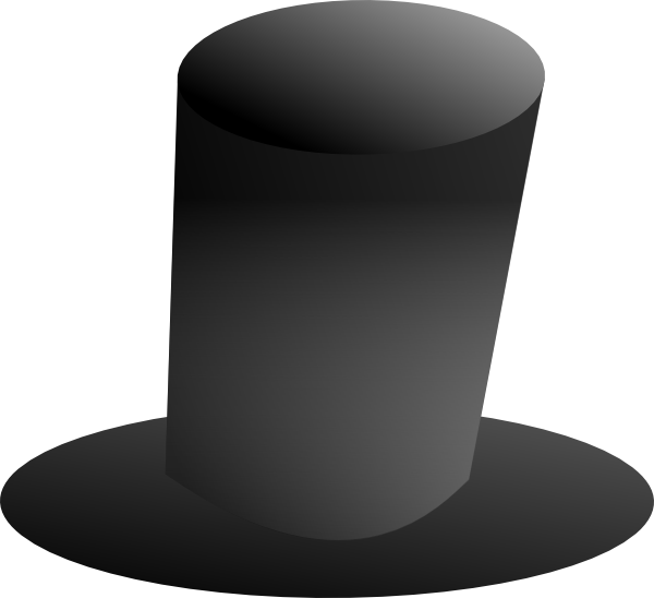 Top hat money clipart clipart freeuse Top Hat Clipart clipart freeuse
