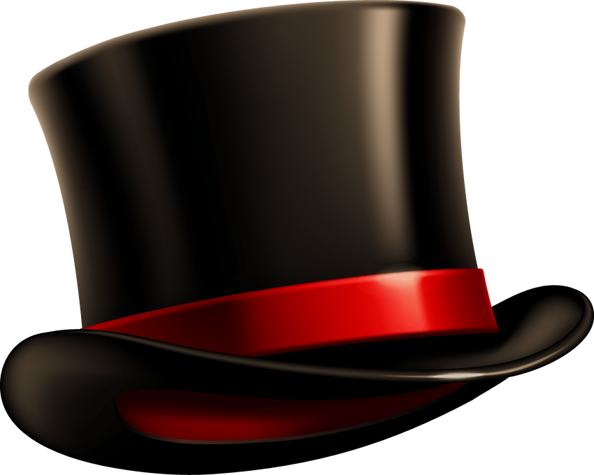 Top hat money clipart picture transparent library black top hat png - Free PNG Images | TOPpng picture transparent library