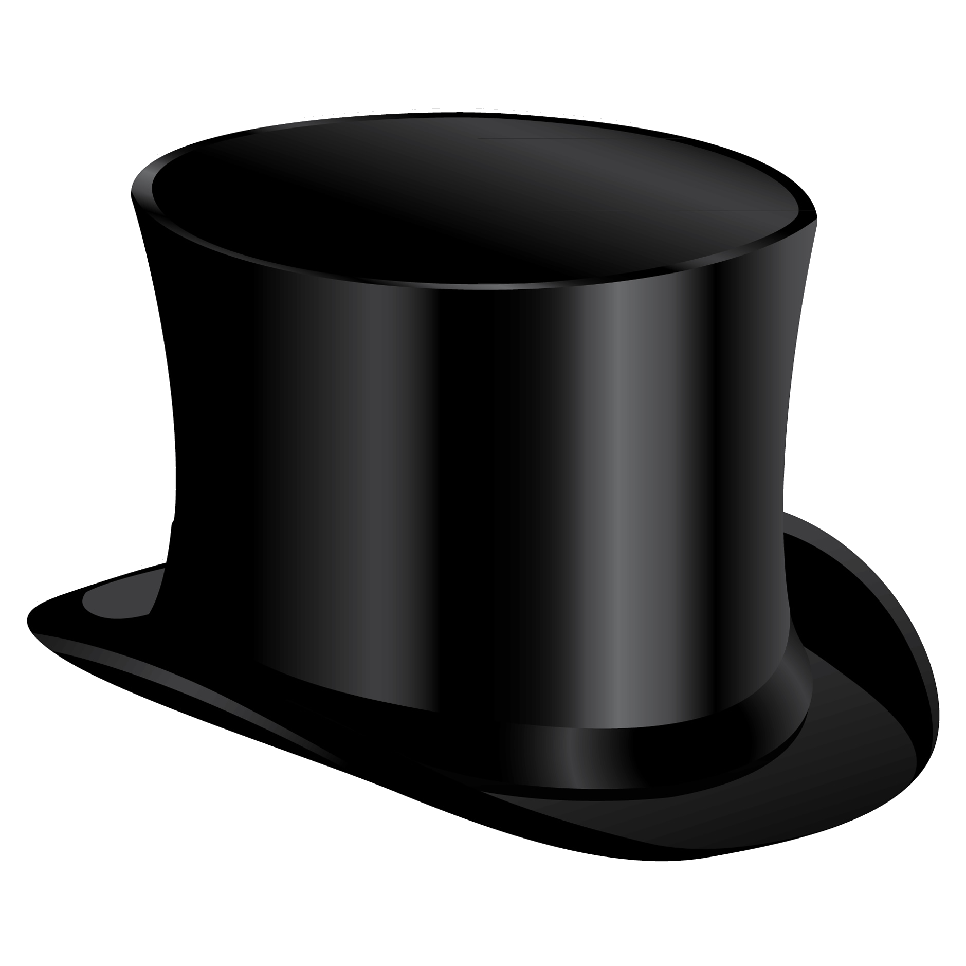 Top hat money clipart graphic royalty free stock Black cylinder hat PNG image | hat | Pinterest | Black graphic royalty free stock