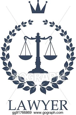 Top law firms in clipart svg free download Vector Art - Scales of justice emblem for law firm design ... svg free download