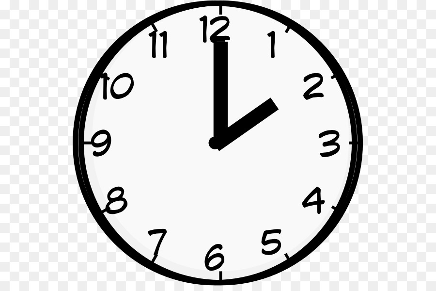 Top line clock on the phone clipart image black and white stock Circle Time png download - 600*589 - Free Transparent Clock ... image black and white stock