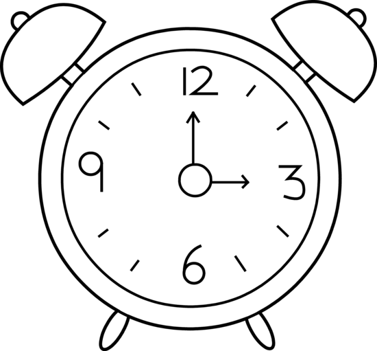 Top line clock on the phone clipart clip art library library Alarm clock clipart free dromfci top - Clipartix clip art library library