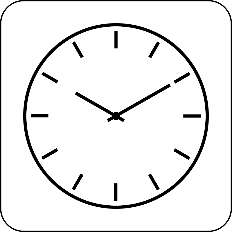 Top line clock on the phone clipart svg black and white library Free Clock Images Free, Download Free Clip Art, Free Clip ... svg black and white library