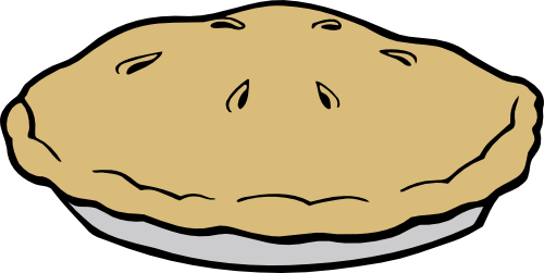 Top of a pie clipart png library Whole Pie Top View Clipart - Clip Art Library png library