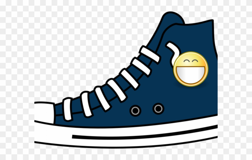 Top of shoe clipart stock Gym Shoes Clipart High Top - High Top Converse Shoe Clip Art ... stock