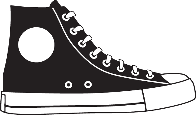 Top of shoe clipart jpg download 355RA - High top sneaker | Winter projects | Shoes vector ... jpg download