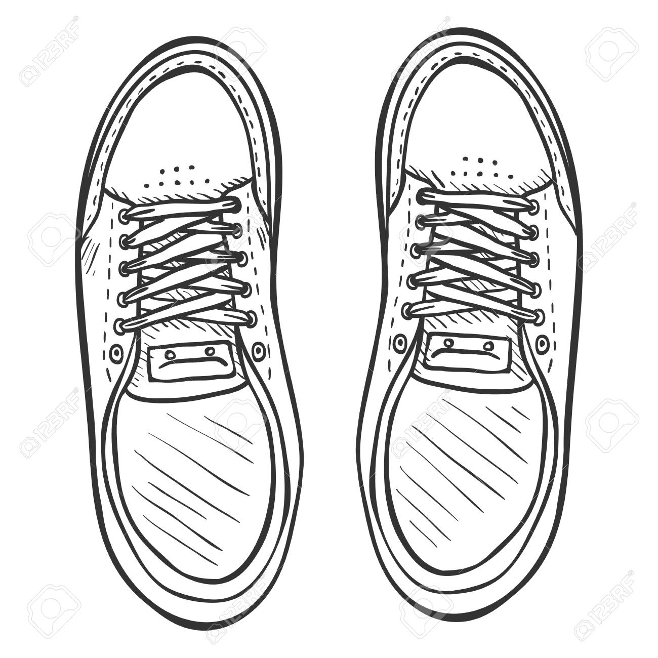 Top of shoe clipart png free stock Shoe Clipart sketch 9 - 1300 X 1300 Free Clip Art stock ... png free stock