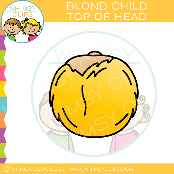 Top of the head clipart clipart royalty free library Head clip art , Images & Illustrations | Whimsy Clips ® clipart royalty free library