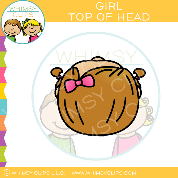 Top of the head clipart png royalty free download Head clip art , Images & Illustrations | Whimsy Clips ® png royalty free download