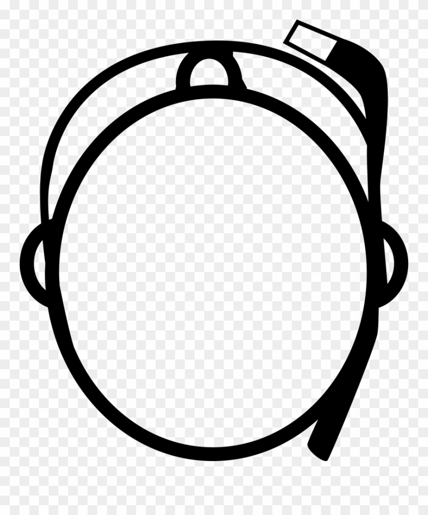 Top of the head clipart banner transparent Png File Svg - Head Top View Icon Clipart (#3973073 ... banner transparent