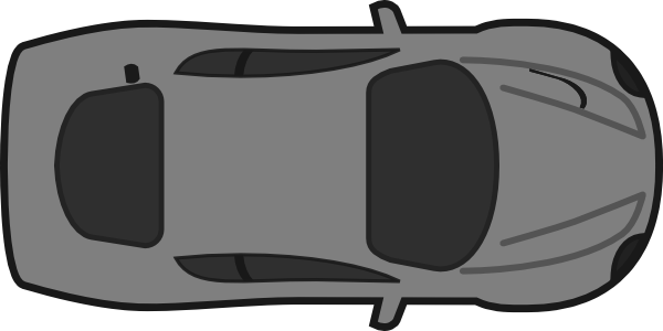 Top view of clipart car vector black and white stock Free Overhead Car Cliparts, Download Free Clip Art, Free ... vector black and white stock