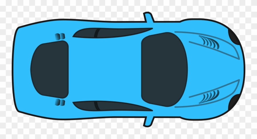View clipart png free download Car Transparent Background Top View Clipart (#154414 ... png free download