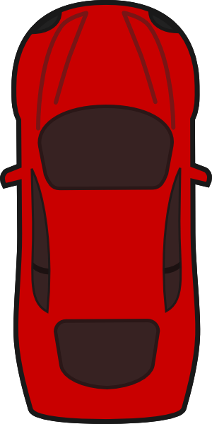 Top view of clipart car svg download Red Car - Top View clip art | Clipart Panda - Free Clipart ... svg download