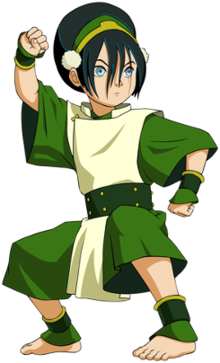 Toph beifong clipart graphic black and white download Toph Beifong - Wikipedia graphic black and white download