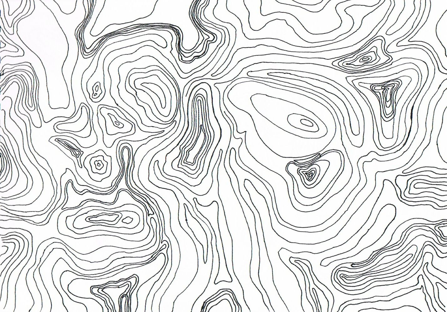 Topo clipart black and white royalty free library topographic map | art | Topographic map, Topography map, Map ... royalty free library