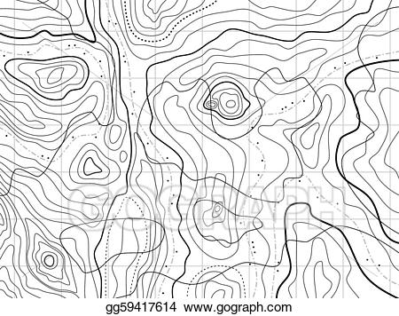 Topographical clipart transparent download Vector Clipart - Abstract topographical map with no names ... transparent download