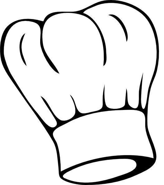 Toque clipart jpg black and white stock Toque de cuisinier clipart 9 » Clipart Station jpg black and white stock