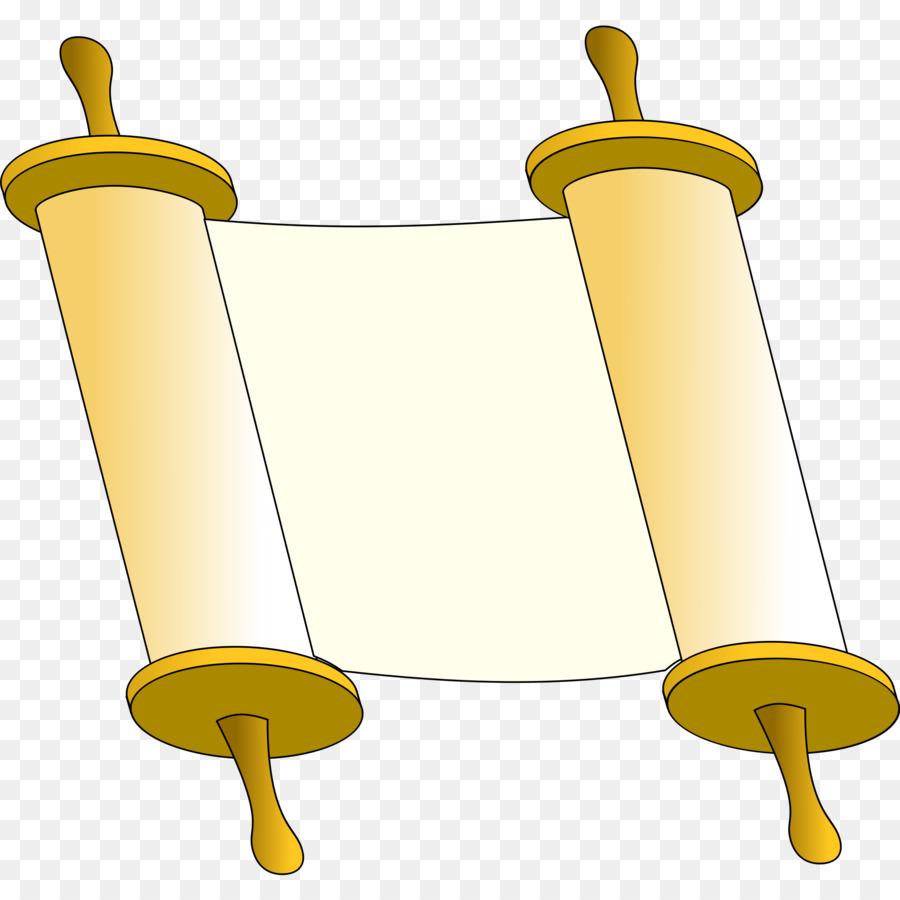 Torah clipart clip art transparent Scroll Background png download - 2400*2400 - Free ... clip art transparent