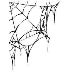 Torn spider web clipart black and white png free download Spider Web Torn Vector Images (80) png free download