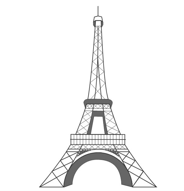 Torre eiffel dibujo clipart transparent Free Torre Eiffel Vector, Download Free Clip Art, Free Clip ... transparent