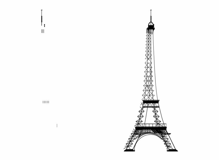 Torre eiffel dibujo clipart jpg download La Tour Eiffel Big Clip Art At - Eiffel Tower Background ... jpg download