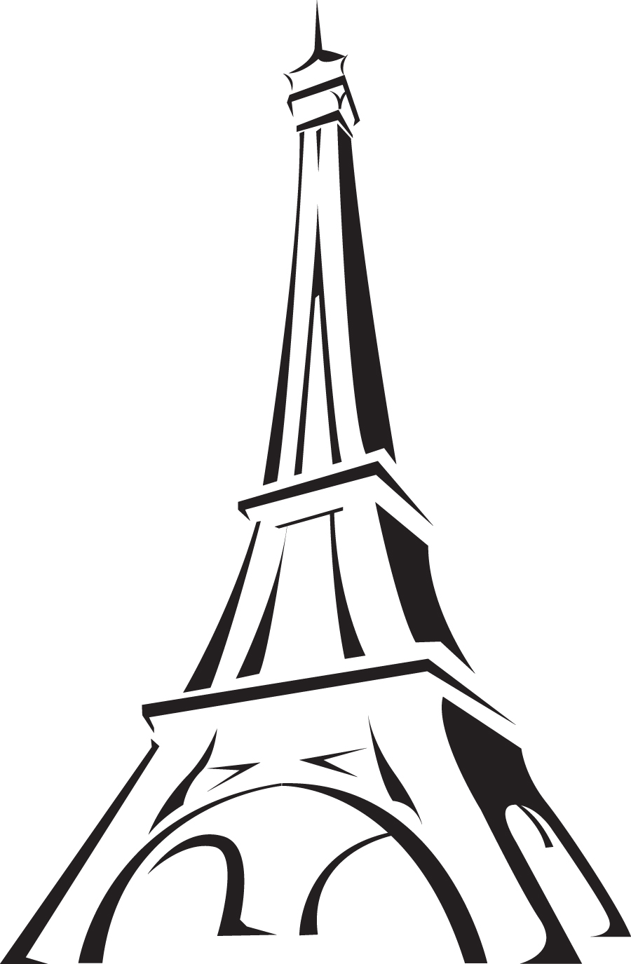 Torre eiffel dibujo clipart clipart free stock Free Torre Eiffel Vector, Download Free Clip Art, Free Clip ... clipart free stock