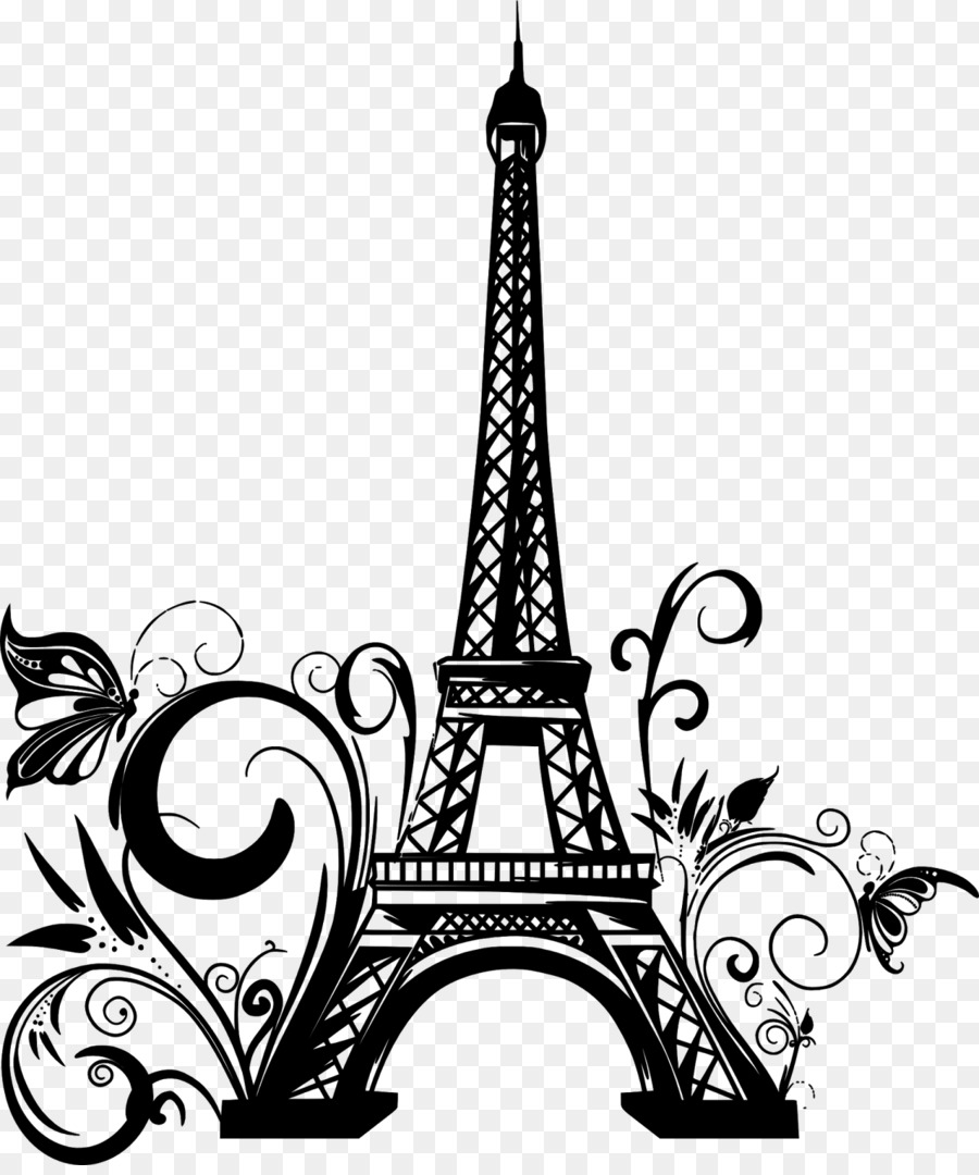 Torre eiffel dibujo clipart svg free library Eiffel Tower Drawing png download - 1345*1600 - Free ... svg free library
