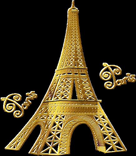 Torre eiffel gold clipart png svg freeuse download paris,tour,eiffel, | Invitation / envelope templates | Paris ... svg freeuse download