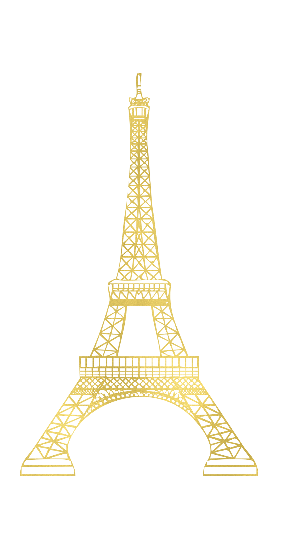Torre eiffel gold clipart png image transparent torreeiffel paris torre eiffel gold... image transparent