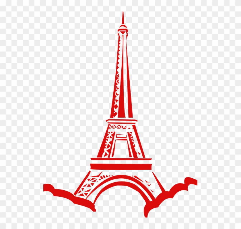 Torre eiffel gold clipart png clip black and white Eiffel Tower France Red Cartoon - Eiffel Tower Clip Art, HD ... clip black and white