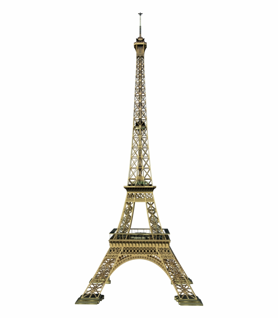 Torre eiffel gold clipart png black and white download Eiffel Tower - Paris - Gold Eiffel Tower Png Free PNG Images ... black and white download