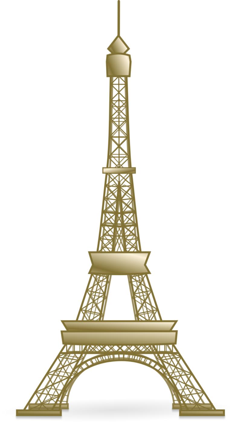 Torre eiffel gold clipart png svg transparent download eiffel tower clipart no background | Clip Art | Eiffel tower ... svg transparent download