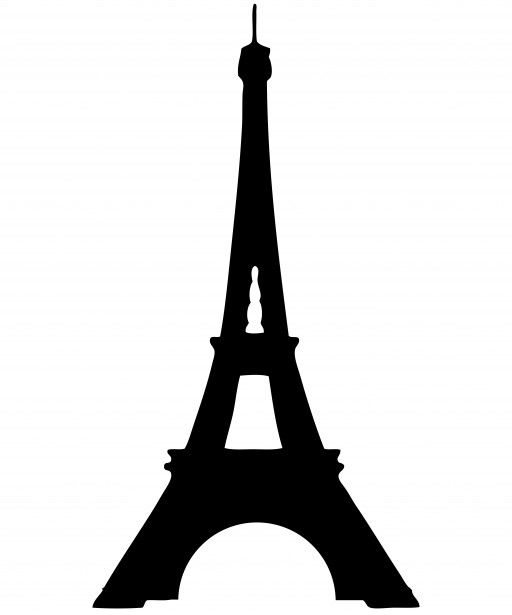 Torre paris clipart svg library Eiffel Tower Silhouette Clipart Free Stock Photo - Public ... svg library