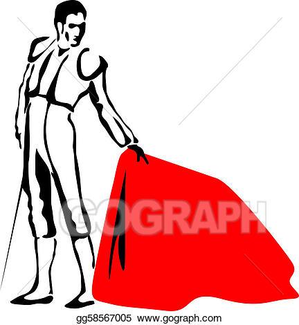 Torrero clipart png transparent Vector Art - Toreador. sketch drawing in vector format ... png transparent