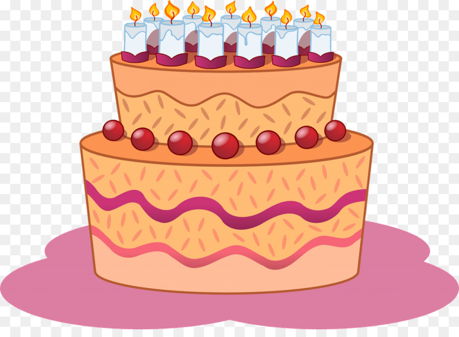 Torte clipart banner black and white download Birthday cake Torte Clip art - Birthday png download - 1024 ... banner black and white download