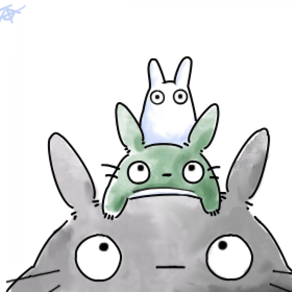 Tortoro clipart clipart freeuse download Collection of Totoro clipart | Free download best Totoro ... clipart freeuse download