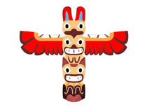 Totem clipart vector transparent library Search Results for Totem - Clip Art - Pictures - Graphics ... vector transparent library