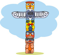 Totem clipart svg transparent stock 19+ Totem Pole Clipart | ClipartLook svg transparent stock