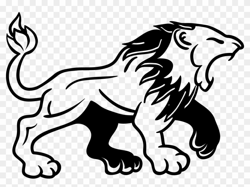 Totem pole clipart black and white lion vector Lion Tattoo Clipart Png Image - Black And White Lion Clipart ... vector