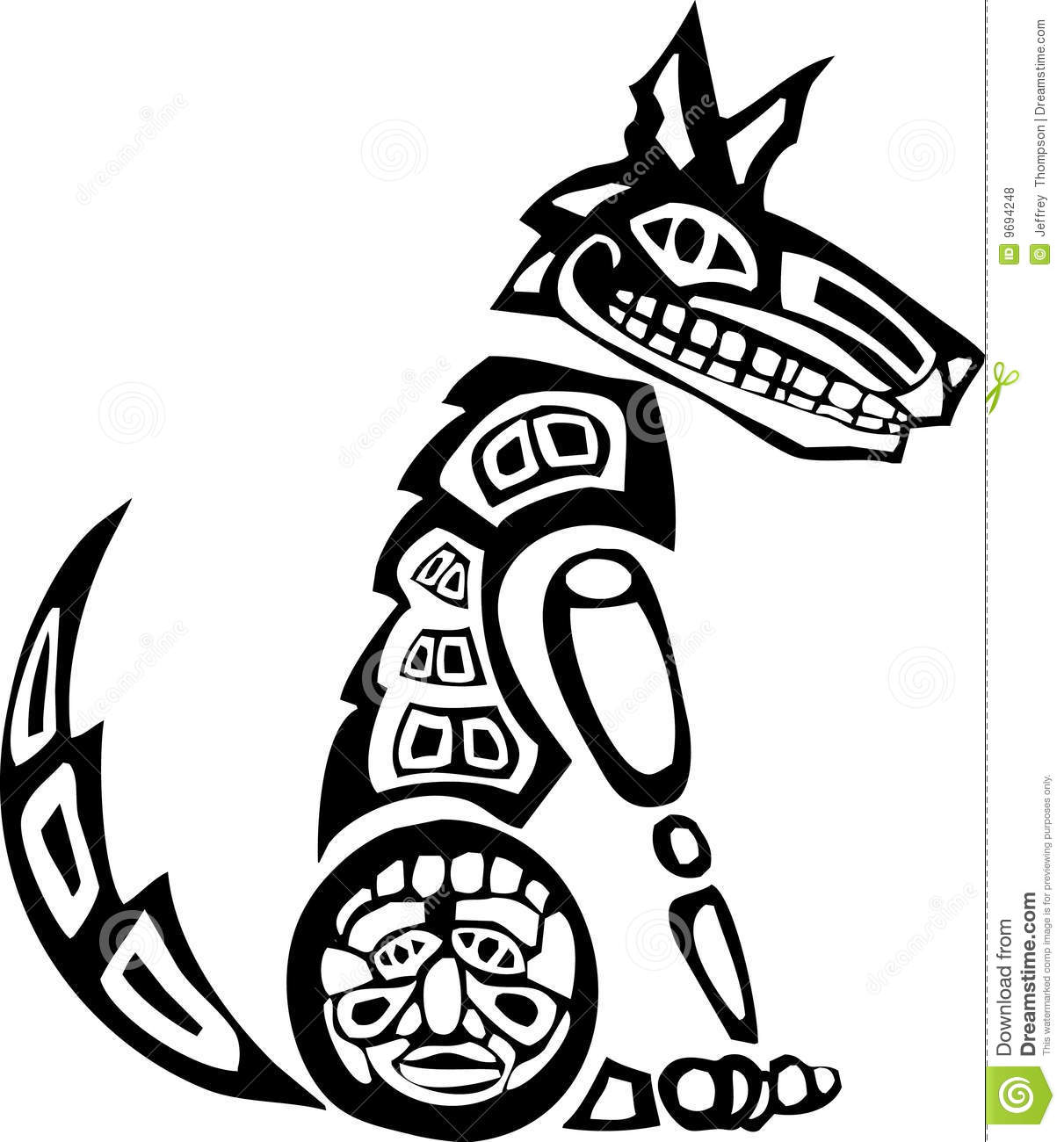 Totem pole clipart black and white lion graphic black and white Totem Drawing   Free download best Totem Drawing on ... graphic black and white
